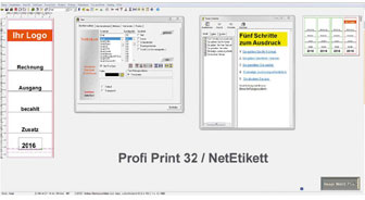 NetEtikett Screenshot